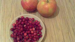 Как сварить варенье из клюквы и яблок