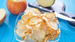 Хрустящий полезный десерт - яблочные чипсы