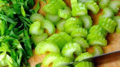 Рецепт салата из черешкового сельдерея