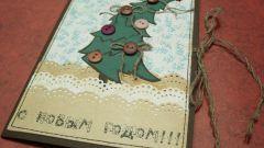 Как сделать оригинальные новогодние открытки