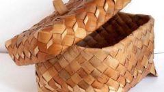 Как сделать хлебницу из бересты