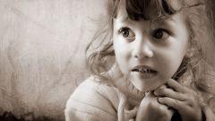 Детские страхи: некоторые сведения