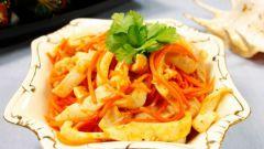 Как приготовить кальмаров по-корейски