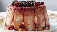 Как приготовить творожный кекс с ягодами