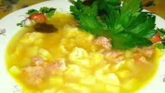 Как приготовить куриный суп с галушками