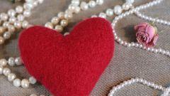 Валентинки своими руками: как свалять сердечко из шерсти