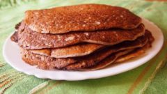 How to cook healthy pancakes with flax meal