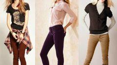 С чем носить вельветовые брюки