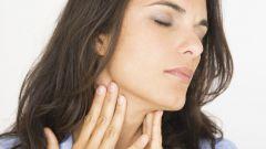 Как быстро снять воспаление в горле