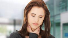Экстренная помощь при первых признаках боли в горле