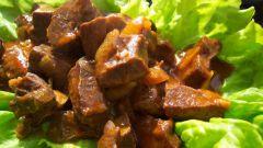 Рецепт говяжьего сердца с томатным соусом