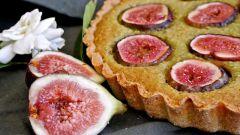 Как приготовить миндально-инжирный пирог