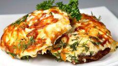 """Как приготовить мясо по-французски с соусом """"Бешамель"""""""