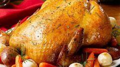 Курица на бутылке: пошаговый рецепт