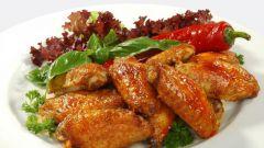 Как приготовить куриные крылышки с абрикосовым соусом