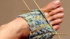 Как вязать носки спицами для начинающих быстро и просто