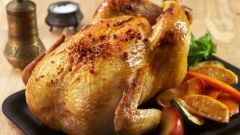 Фаршированная курица для праздничного стола