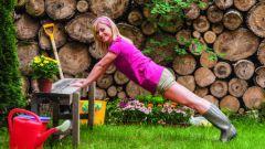 Как правильно заниматься дачным фитнесом