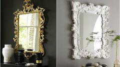 Как при помощи зеркала сделать оригинальный элемент в интерьере