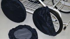 Как сшить чехлы на колеса коляски, чтобы сохранить чистоту в доме