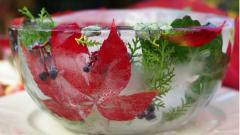 Как сделать ледяную вазу своими руками