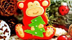 Пряник «Забавная обезьянка»