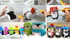 Яркие новогодние игрушки своими руками из доступных материалов