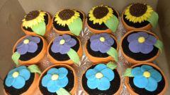 Как сделать шоколадный кекс в виде цветка в горшке