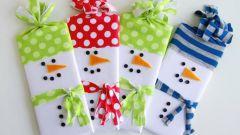 Как превратить шоколадку в снеговика: 2 способа