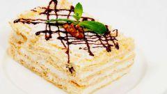 Как приготовить торт «Наполеон» в домашних условиях