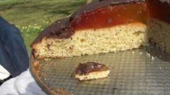 Торт с желе в виде гигантского печенья