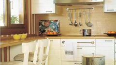 Несколько простых идей, как обустроить маленькую кухню
