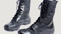 The army stuff. How to properly care for your ankle boots