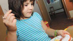Как научить ребенка вышивке