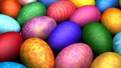 Зачем красят яйца