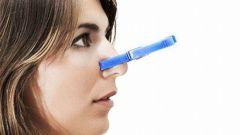 Как избавиться от заложенности носа