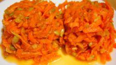 """Витаминный салат красоты """"Оранжевое чудо"""""""