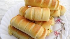 Быстрые булочки с сыром
