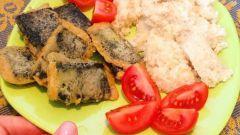 """Постное блюдо: """"рыба"""" из тофу"""