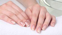 Как укрепить ногти с помощью ванночек
