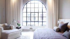 Какие шторы выбрать для полукруглых окон