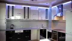 Как подобрать светильники на кухню