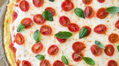 Пицца из цветной капусты «А-ля стройность»