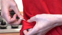 Методы очистки одежды от жвачки