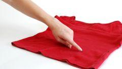 Пятна жира на одежде: удаляем без химчистки