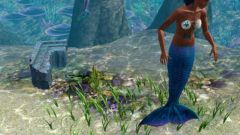 How to become a mermaid in Sims 3