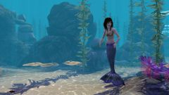 How to become a mermaid in Sims 3. Island Paradise