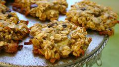 Как сделать печенье из овсянки и банана