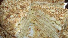 """Торт """"Наполеон"""" из готовых коржей"""