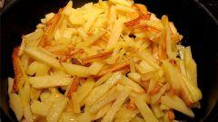 Как быстро пожарить картошку